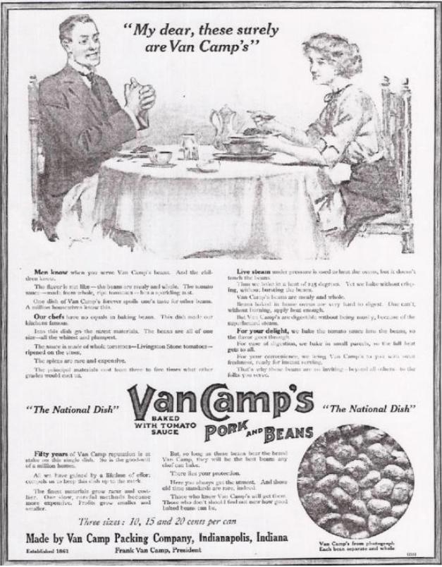 Claude Hopkins Van Camp's